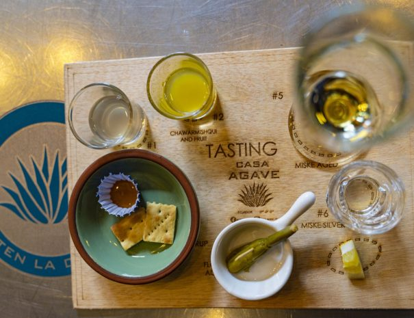 Drink and Food Platter Tasting