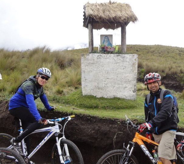 Bike ride Cotopaxi