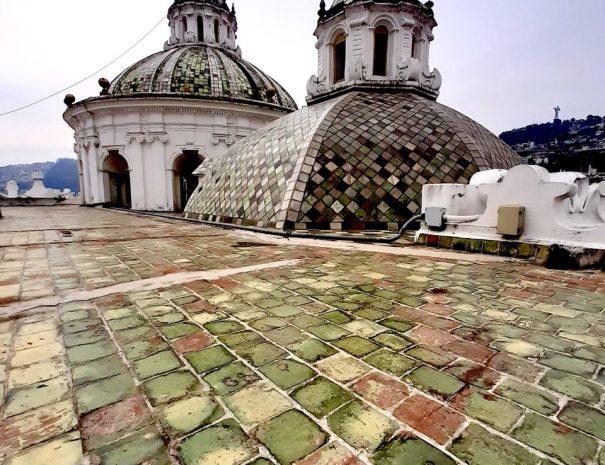 La Compania Church Domes