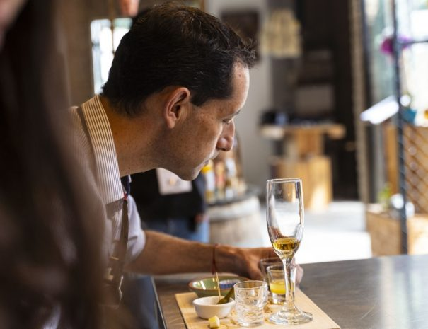 Person Drink Tasting Agave Quito