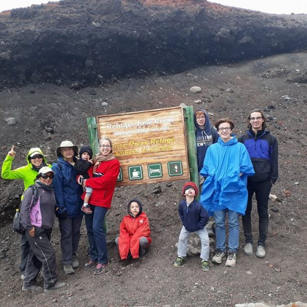 Family Group Cotopaxi