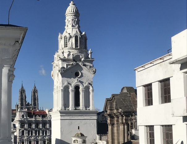 QUITO HISTORIC CENTER Tower