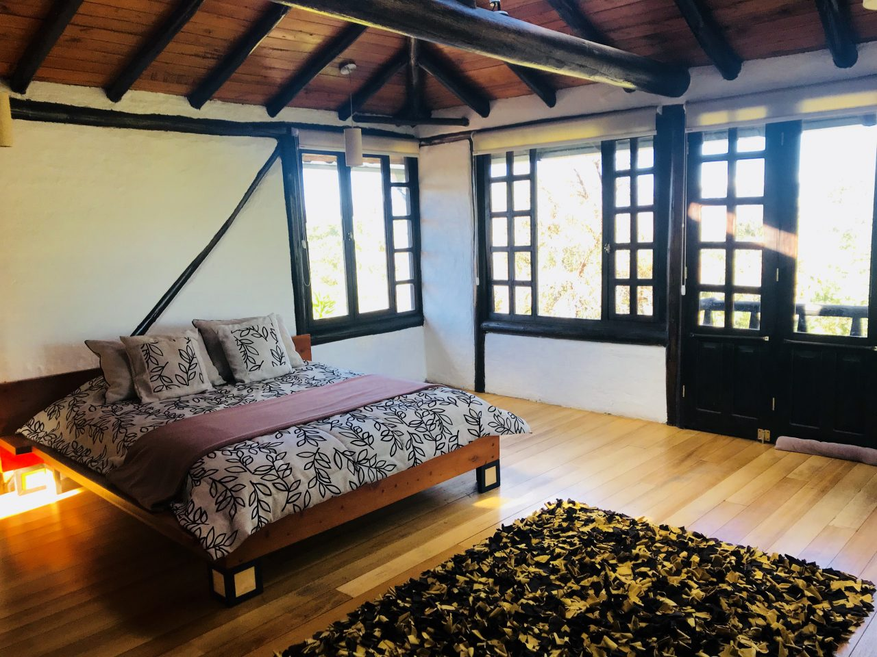Comfortable and airy rooms at Sierra Alisos.