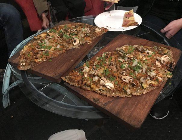 La Cleta Bici Cafe Gluten Free Vegan Pizza