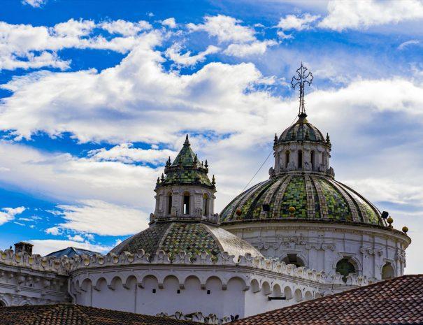 La Compania de Jesus Church Domes