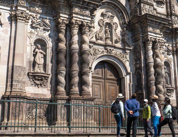 La Compania Church Fasade