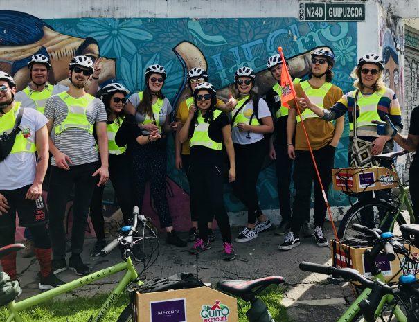 La Floresta Street Art Quito Bike Tours