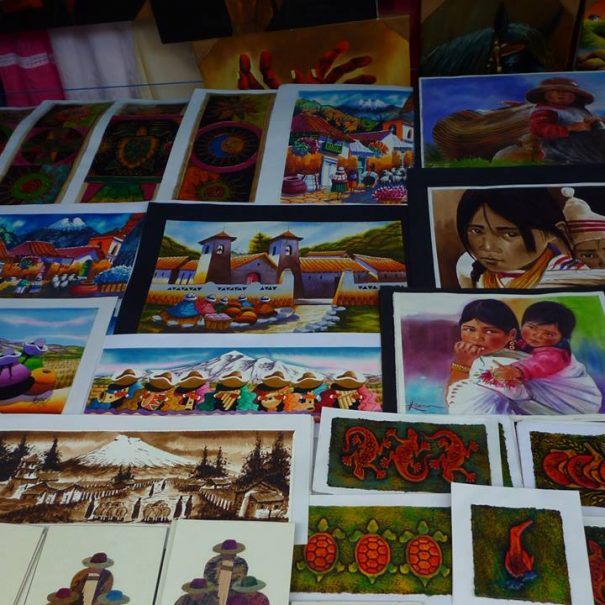 Otavalo Market Paintings