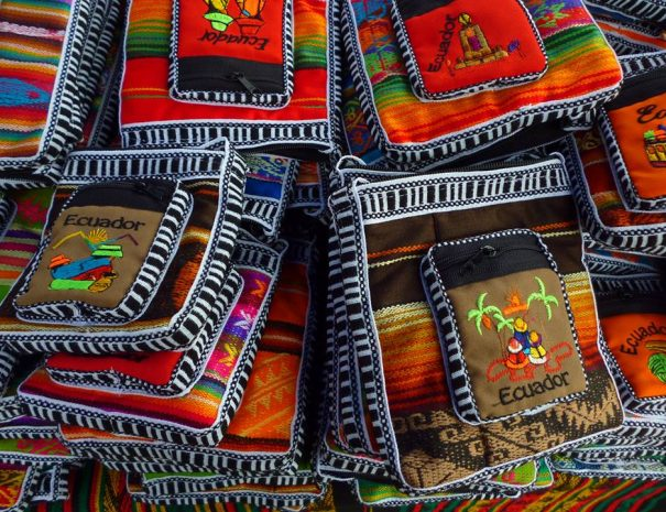 Otavalo Market bags