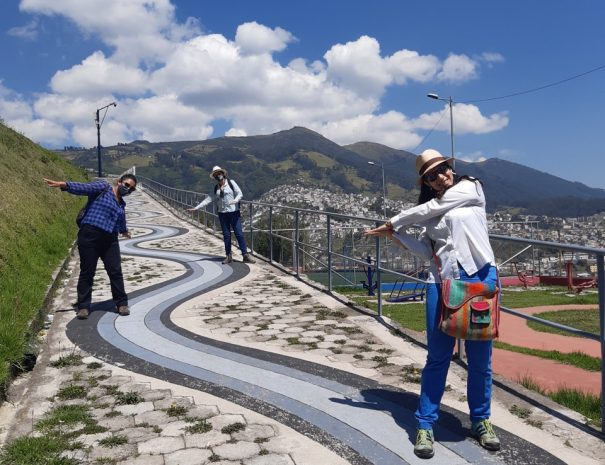 Painted Path El Panecillo and QBT Team