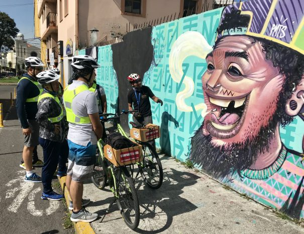 Quito Bike Tours Street Art Apitatan