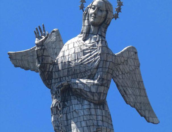 Statute Virgin Angel of El Panecillo QBT