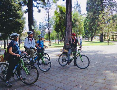 Cycling Quito