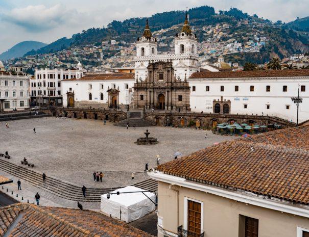 San Francisco Church Quito, Ecuador